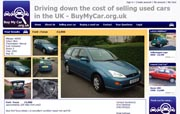 UK Car Sales website