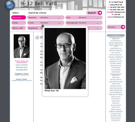 9-12 Bell Yard Main Website, Barrister results zoom image