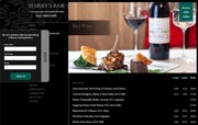 Harry's Bar, Splendid London Restaurants with an advanced website.