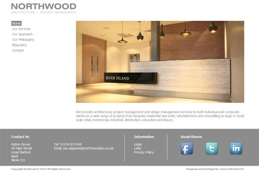 Northwood Project Management home page