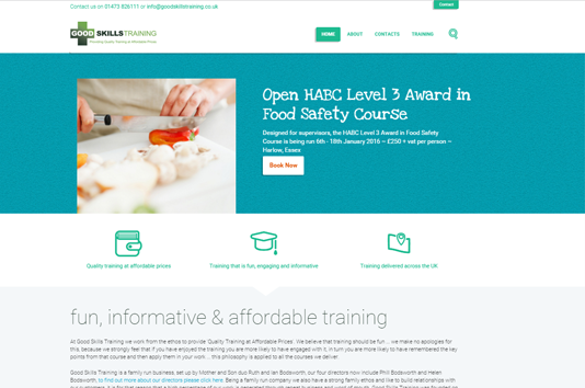 Good Skills Training Ltd - Home Page