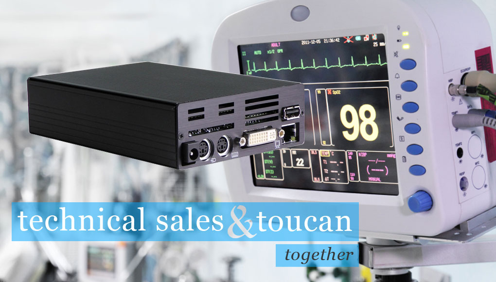 Technical sales and Toucan Internet